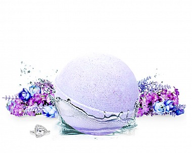 Early Morning Lilac Bath Bomb