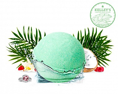 Palm Oasis Jewelry Bath Bomb