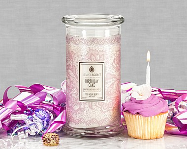 Jewelscent Birthday Cake Candle