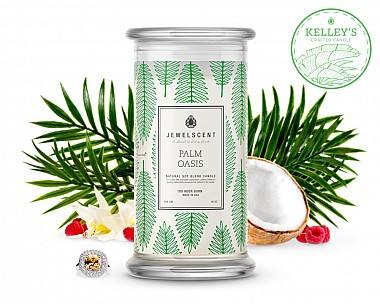Palm Oasis Jewelry Candle