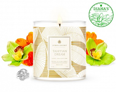 LUXE Tahitian Dream Jewelry Candle