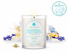 Signature Shimmering Coral Waters Jewelry Candle