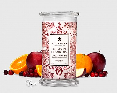 Crimson Cranberry Candle