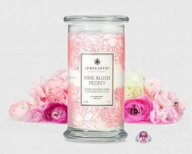 Pink Blush Peony Candle