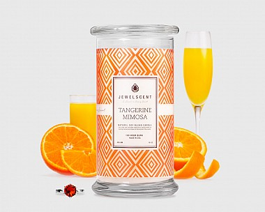 Tangerine Mimosa Candle