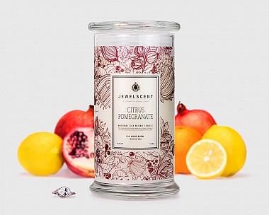Citrus Pomegranate Candle
