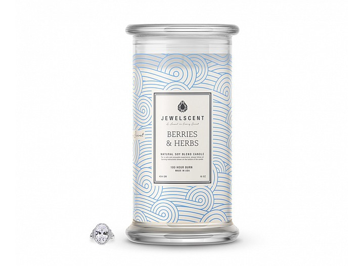 Berries & Herbs Candle