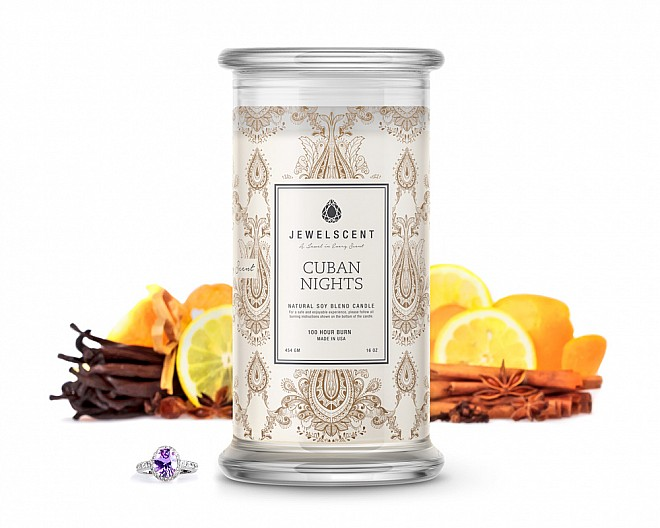 Cuban Nights Jewelry Candle