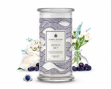 Indigo Sky Jewelry Candle