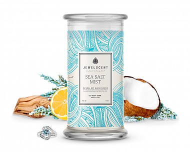 Sea Salt Mist Candle