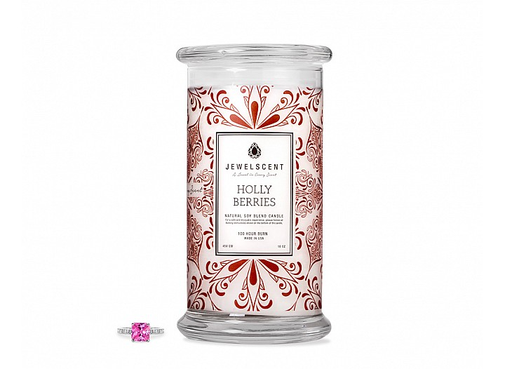 Holly Berries Candle