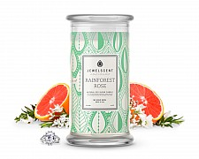 Rainforest Rose Candle