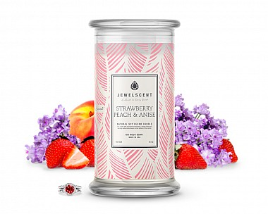 Strawberry Peach & Anise Candle