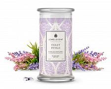 Violet Petals Candle