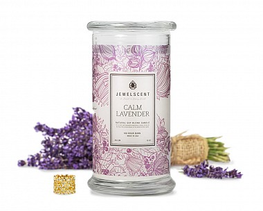 Calm Lavender Jewelry Candle