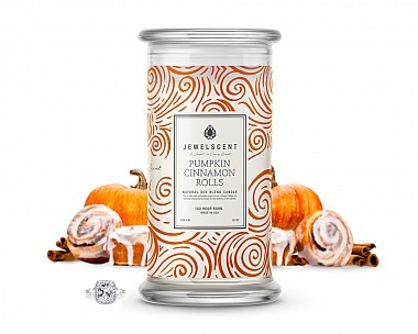 Pumpkin Cinnamon Roll Jewelry Candle