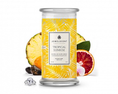 Tropical Sunrise Jewelry Candle