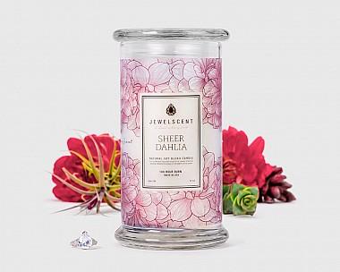 Sheer Dahlia Candle
