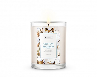 Essentials Cotton Blossom Candle