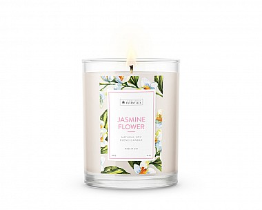 Essentials Jasmine Flower Candle