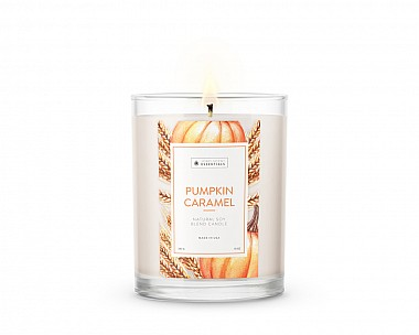 Essentials Pumpkin Caramel Candle