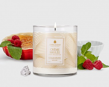 LUXE Creme Brulee Candle