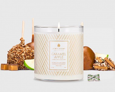 LUXE Caramel Apple Candle