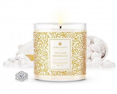 LUXE Italian Meringue Jewelry Candle