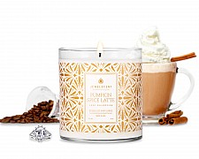 LUXE Pumpkin Spice Latte Candle