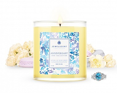 LUXE Anniversary Jewelry Candle
