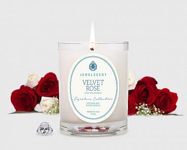 Signature Velvet Rose Candle