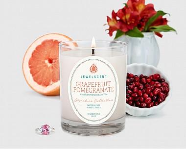 Signature Grapefruit Pomegranate Candle