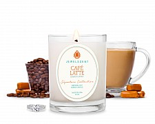 Signature Cafe Latte Candle