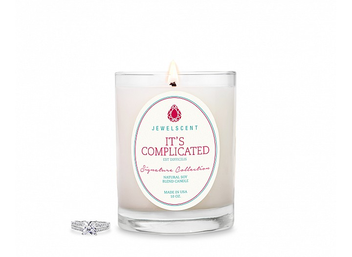 Signature It's Complicated Candle