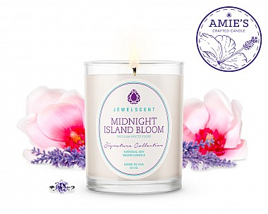 Signature Midnight Island Bloom Candle