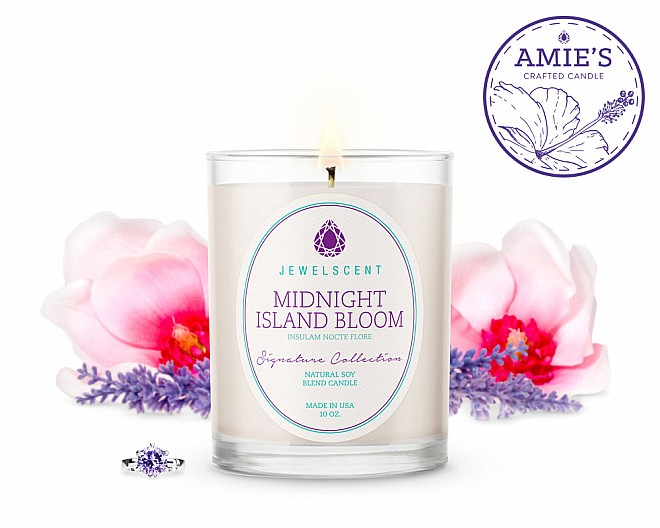 Signature Midnight Island Bloom Candle