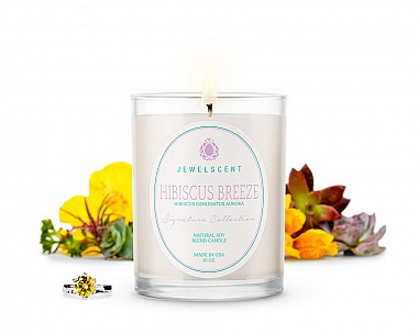 Signature Hibiscus Breeze Candle