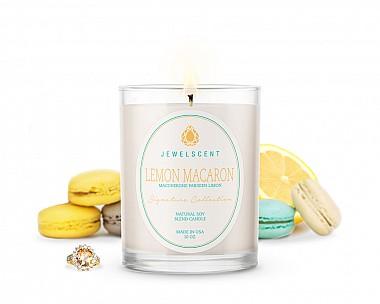 Signature Lemon Macaron Candle