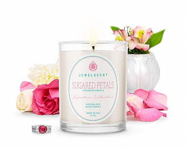 Signature Sugared Petals Jewelry Candle