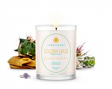 Signature Golden Haze Jewelry Candle
