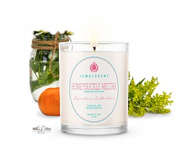 Signature Honeysuckle Nectar Jewelry Candle