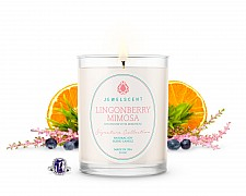 Signature Lingonberry Mimosa Candle