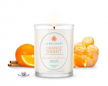 Signature Orange Sherbet Jewelry Candle