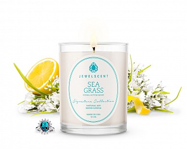 Signature Sea Grass Jewelry Candle