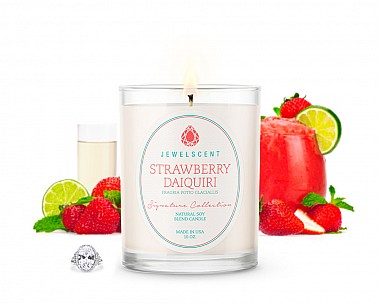 Signature Strawberry Daiquiri Jewelry Candle