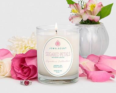 Signature Sugared Petals Candle