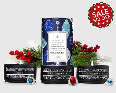 2016 Holiday Trio 3-Tin Candle Set