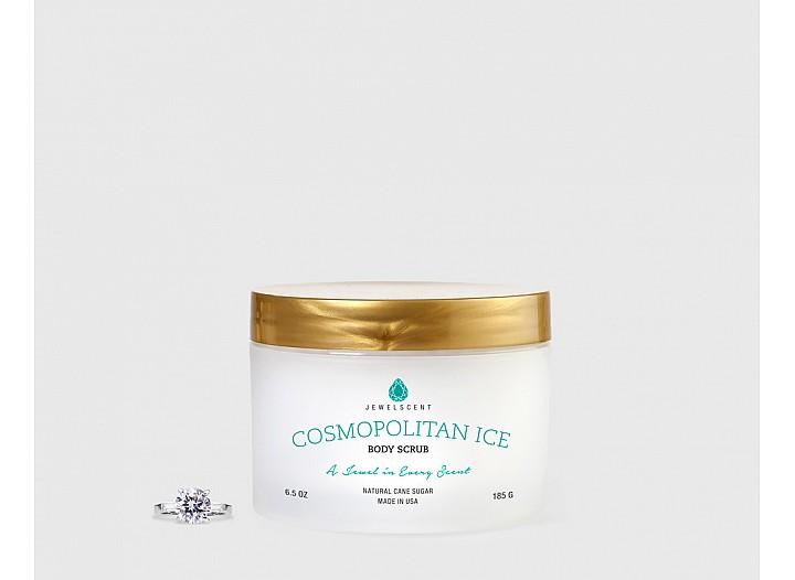 Cosmopolitan Ice Body Scrub - Jewelry Body Scrub Soap | JewelScent