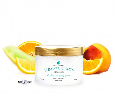 Summer Nights Jewelry Body Scrub