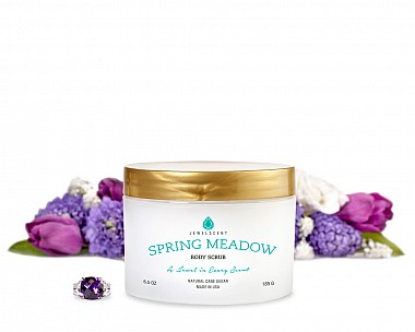 Spring Meadow Jewelry Body Scrub